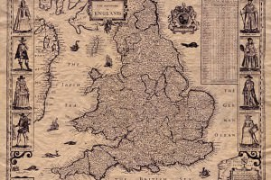 Old Map England