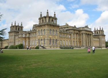 Blenheim Palace driver tour
