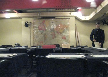 Cabinet Room Churchill War Rooms driver tour