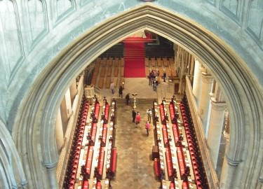 Canterbury Cathedral quire driver tour