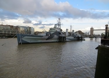 HMS Belfast guided tour