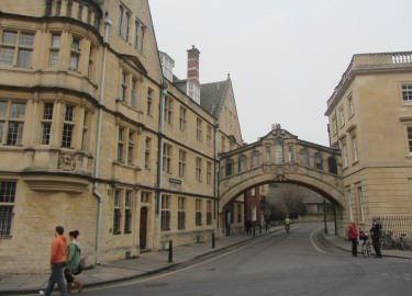 Oxford Bridge of Sighs guided tour