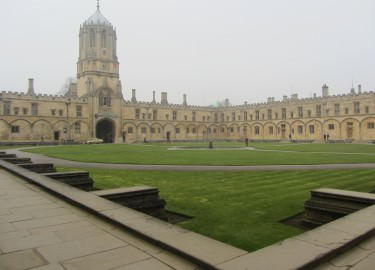 Oxford Tom Quad Christ Church driver tour