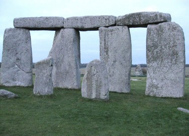 Stonehenge from within the stone circle guided tour