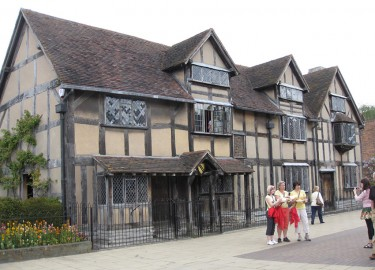William Shakespeares Birthplace Stratford upon Avon driver tour