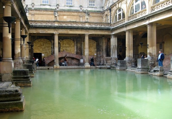 Roman Baths Driver tour