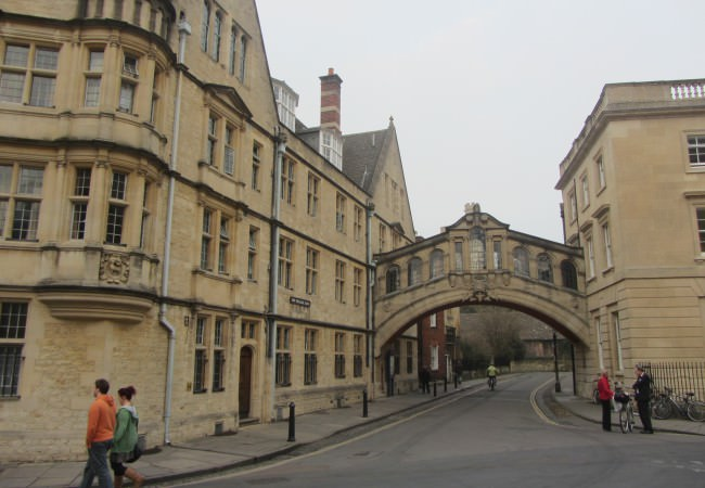 Oxford Bridge of Sighs driver tour