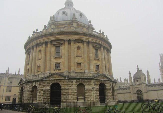 Radcliffe Camera Oxford guided tour