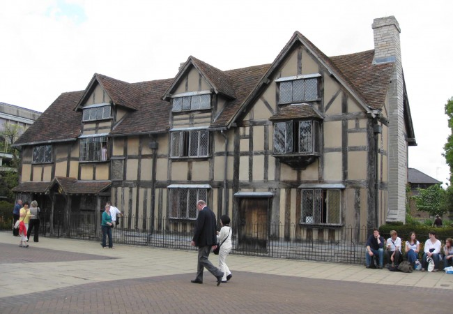 William Shakespeares Birthplace 2 Stratford upon Avon driver tour