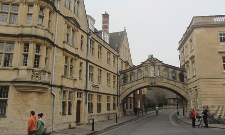 Bridge of Sighs Oxford guided tour