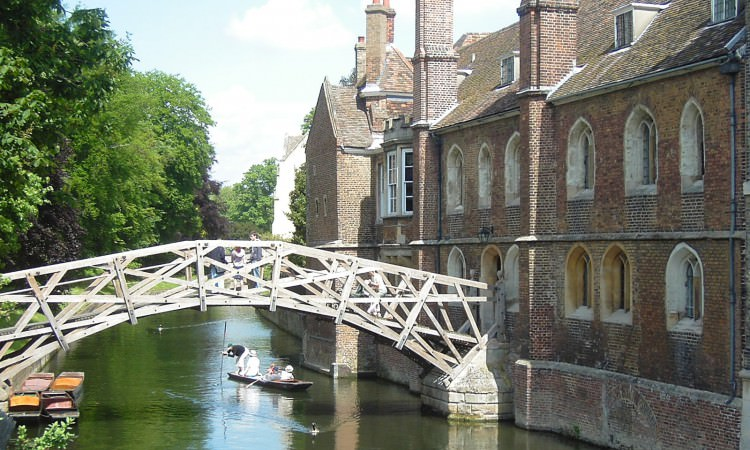 Cambridge mathematical bridge driver tour
