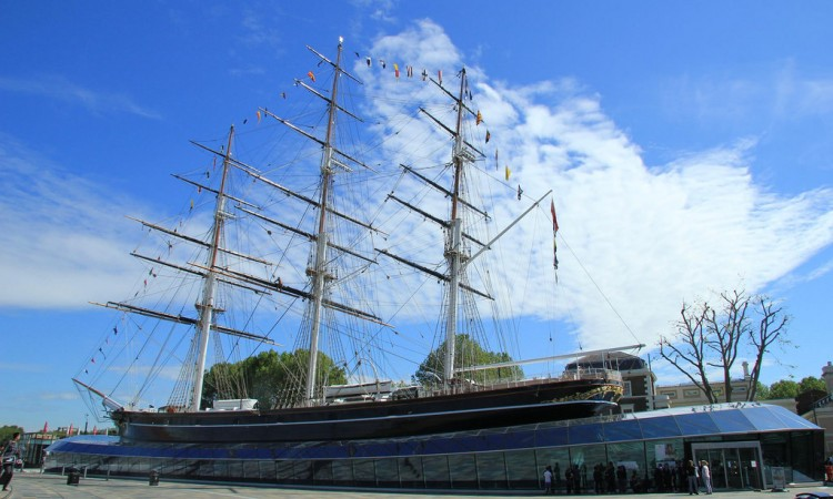 Cutty Sark guided tour