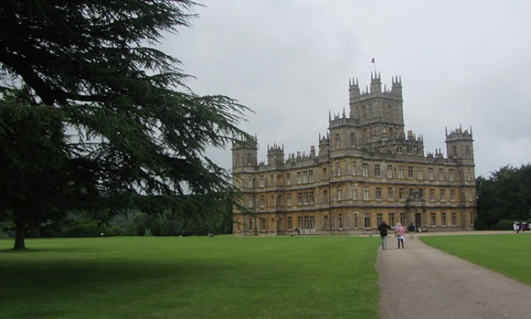 Highclere Castle Downton Abbey guided tour