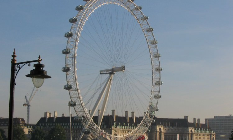 London Eye driver tour